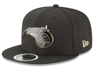 Orlando Magic New Era NBA Black Enamel 9FIFTY Snapback Cap