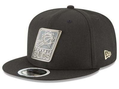 Phoenix Suns New Era NBA Black Enamel 9FIFTY Snapback Cap