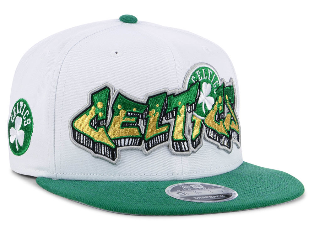 Boston Celtics New Era NBA Retro Word 9FIFTY Snapback Cap  35c773519939
