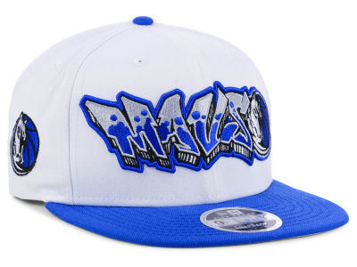 Dallas Mavericks New Era NBA Retro Word 9FIFTY Snapback Cap