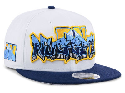 Denver Nuggets New Era NBA Retro Word 9FIFTY Snapback Cap