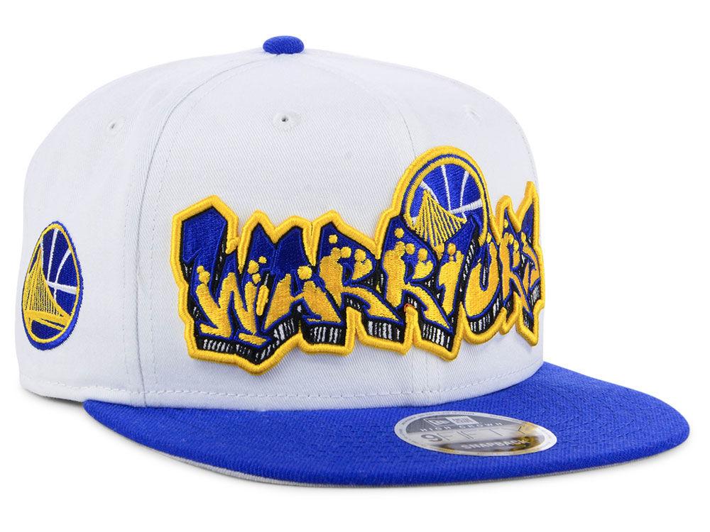 Golden State Warriors New Era NBA Retro Word 9FIFTY Snapback Cap ... 4c7fd4c61733