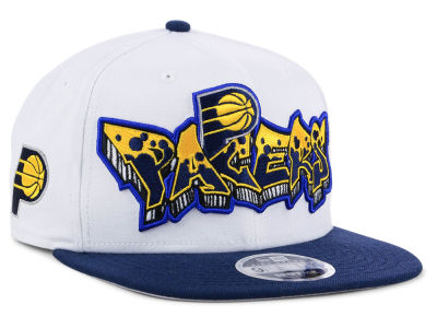 Indiana Pacers New Era NBA Retro Word 9FIFTY Snapback Cap