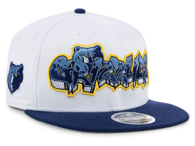 Memphis Grizzlies New Era NBA Retro Word 9FIFTY Snapback Cap
