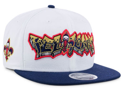 New Orleans Pelicans New Era NBA Retro Word 9FIFTY Snapback Cap
