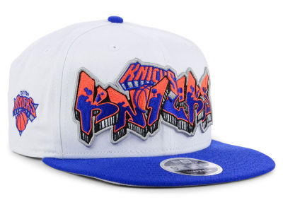 New York Knicks New Era NBA Retro Word 9FIFTY Snapback Cap