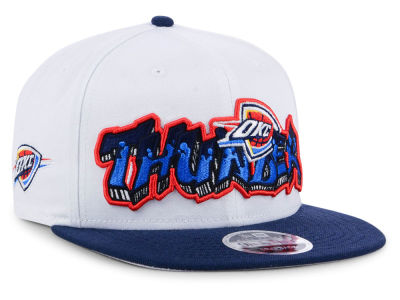 Oklahoma City Thunder New Era NBA Retro Word 9FIFTY Snapback Cap