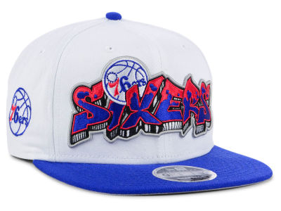Philadelphia 76ers New Era NBA Retro Word 9FIFTY Snapback Cap