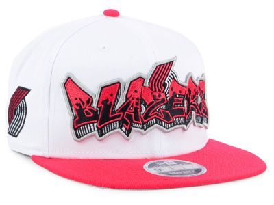 Portland Trail Blazers New Era NBA Retro Word 9FIFTY Snapback Cap