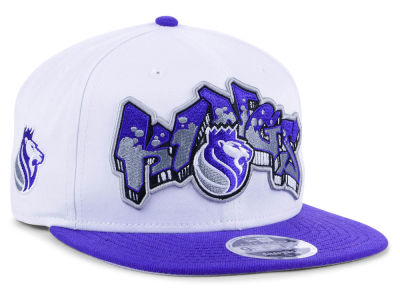 Sacramento Kings New Era NBA Retro Word 9FIFTY Snapback Cap