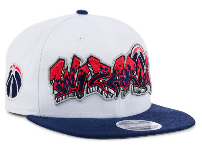 Washington Wizards New Era NBA Retro Word 9FIFTY Snapback Cap