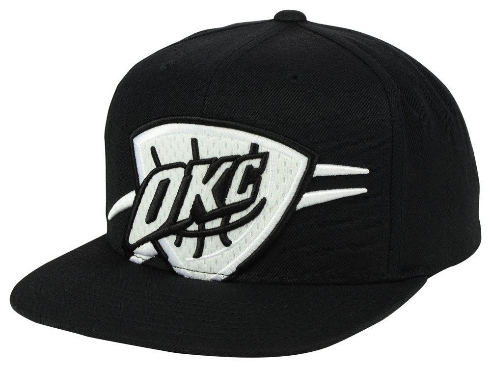 check out 82e57 013e3 ... hot oklahoma city thunder mitchell ness nba xl mesh crop snapback cap  d677c 782b4