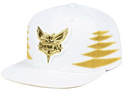 big sale f5d2c 277b8 ... shopping charlotte hornets mitchell ness nba gold diamonds snapback cap  ddd77 cdf72