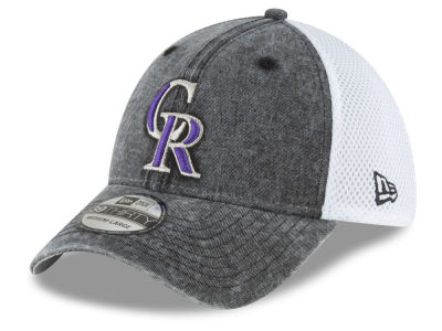 Colorado Rockies New Era MLB Hooge Neo 39THIRTY Cap