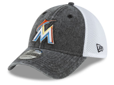 Miami Marlins New Era MLB Hooge Neo 39THIRTY Cap