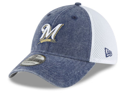 Milwaukee Brewers New Era MLB Hooge Neo 39THIRTY Cap