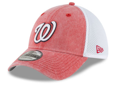 Washington Nationals New Era MLB Hooge Neo 39THIRTY Cap