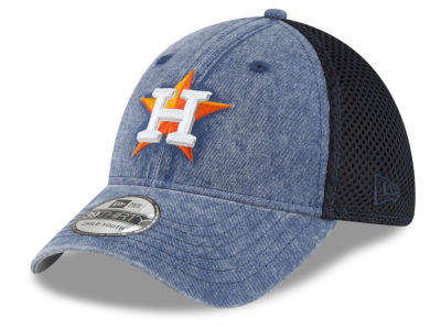 Houston Astros New Era MLB Jr Hooge Neo 39THIRTY Cap