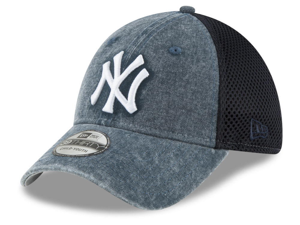 new style b3ff0 12f76 ... closeout new york yankees new era mlb jr hooge neo 39thirty cap lids  bdfd0 796b2