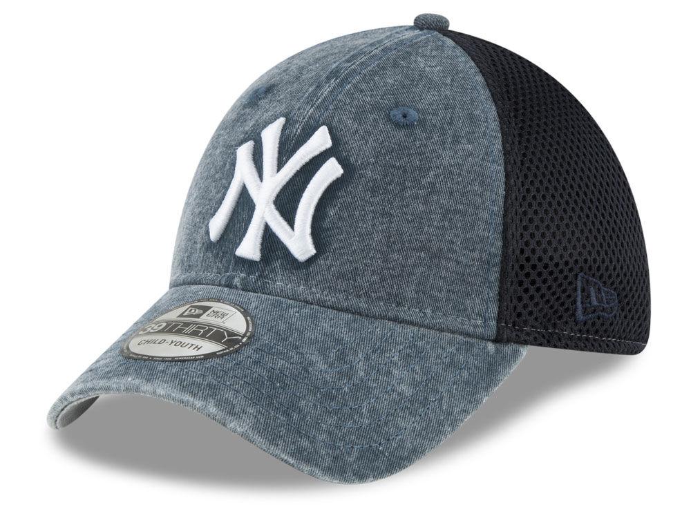 new style bf921 d1571 ... closeout new york yankees new era mlb jr hooge neo 39thirty cap lids  bdfd0 796b2
