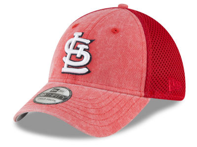 St. Louis Cardinals New Era MLB Jr Hooge Neo 39THIRTY Cap