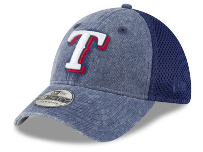 Texas Rangers New Era MLB Jr Hooge Neo 39THIRTY Cap