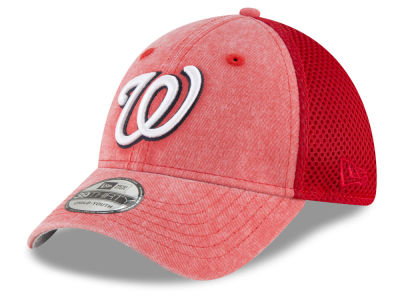 Washington Nationals New Era MLB Jr Hooge Neo 39THIRTY Cap