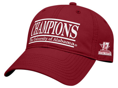 Alabama Crimson Tide Game Sportswear 2017 NCAA Football National Champs Strapback Cap