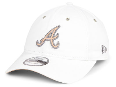 Atlanta Braves New Era MLB Metallic Pastel 9TWENTY Cap