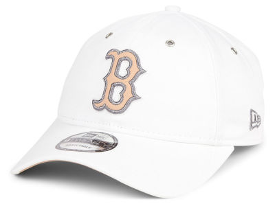 Boston Red Sox New Era MLB Metallic Pastel 9TWENTY Cap