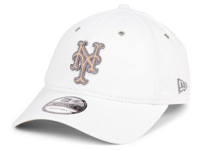 New York Mets New Era MLB Metallic Pastel 9TWENTY Cap