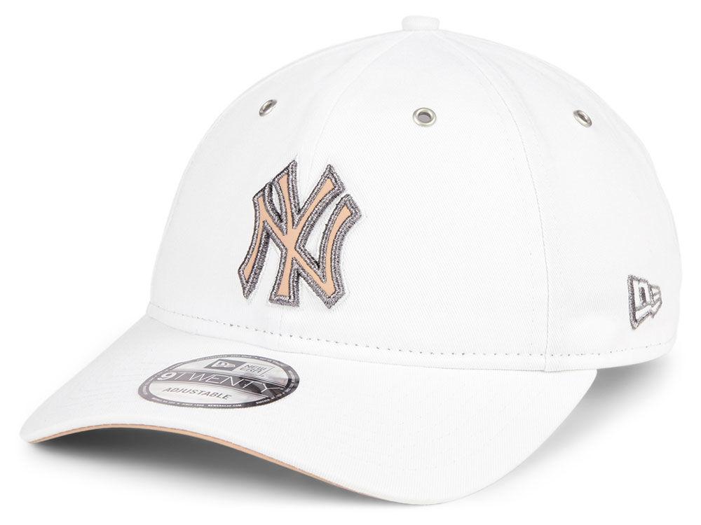 0f2d5292ebd New York Yankees New Era MLB Metallic Pastel 9TWENTY Cap