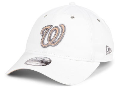 Washington Nationals New Era MLB Metallic Pastel 9TWENTY Cap
