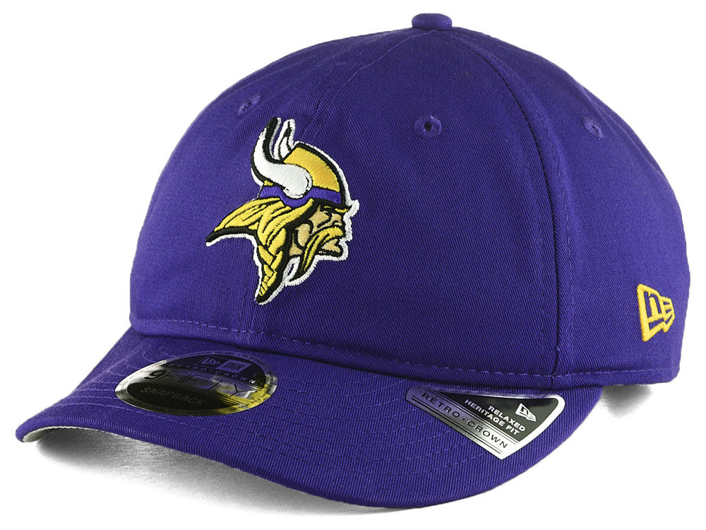22a888579da Minnesota Vikings New Era NFL Team Choice Retro 9FIFTY Snapback Cap ...