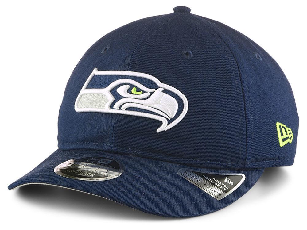 165291d77 Seattle Seahawks New Era NFL Team Choice Retro 9FIFTY Snapback Cap ...