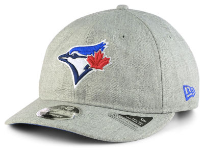 Toronto Blue Jays New Era MLB Heathered Team Retro 9FIFTY Snapback Cap
