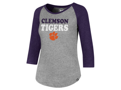 Clemson Tigers '47 NCAA Women's Club Raglan T-Shirt