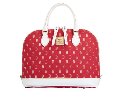 Boston Red Sox Dooney & Bourke Zip Zip Stitch Satchel