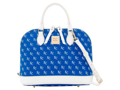 Kansas City Royals Dooney & Bourke Zip Zip Stitch Satchel