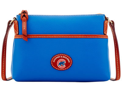 Chicago Cubs Dooney & Bourke Pebble Ginger Crossbody