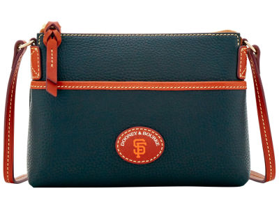 San Francisco Giants Dooney & Bourke Pebble Ginger Crossbody