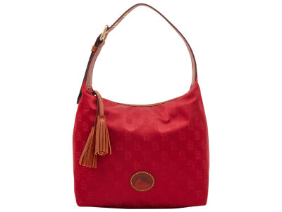 St. Louis Cardinals Dooney & Bourke Embossed Nylon Paige Sac