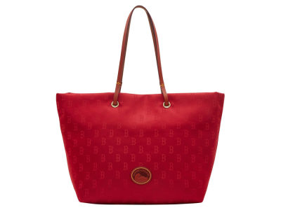 Boston Red Sox Dooney & Bourke Embossed Nylon Addison Tote