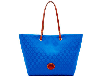 Chicago Cubs Dooney & Bourke Embossed Nylon Addison Tote