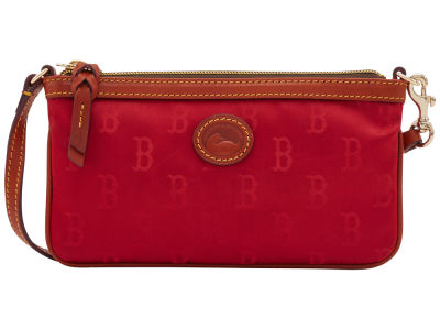 Boston Red Sox Dooney & Bourke Embossed Nylon Large Wristlet