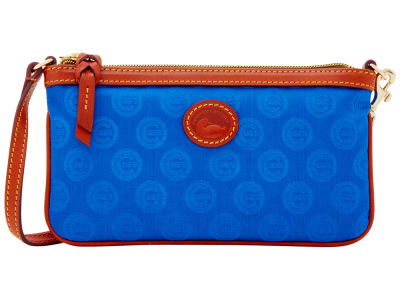 Chicago Cubs Dooney & Bourke Embossed Nylon Large Wristlet