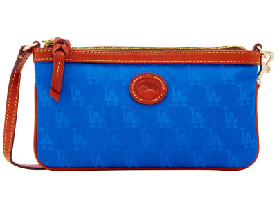 Los Angeles Dodgers Dooney & Bourke Embossed Nylon Large Wristlet