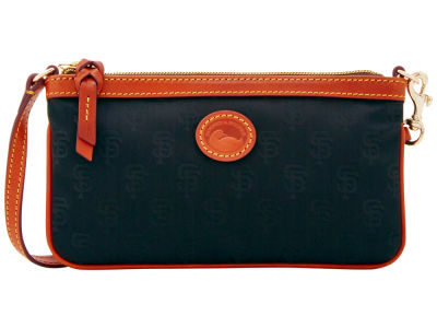 San Francisco Giants Dooney & Bourke Embossed Nylon Large Wristlet