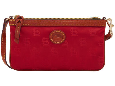St. Louis Cardinals Dooney & Bourke Embossed Nylon Large Wristlet