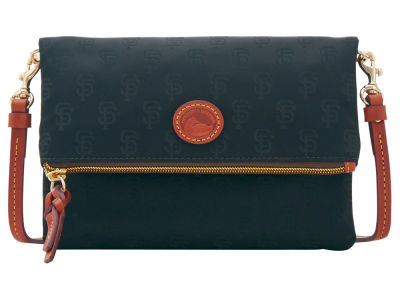 San Francisco Giants Dooney & Bourke Embossed Nylon Foldover Crossbody